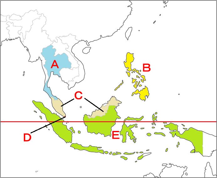地理1-5 世界の国々 用語確認