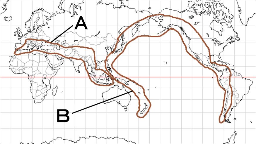 中学地理:世界の地形