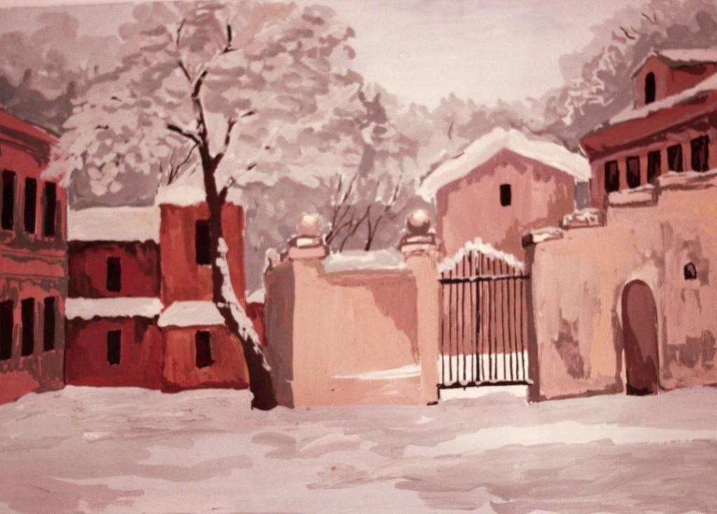 Алексеева Ангелина, г. Нижний Новгород, ДХШ № 3, Зимний пейзаж