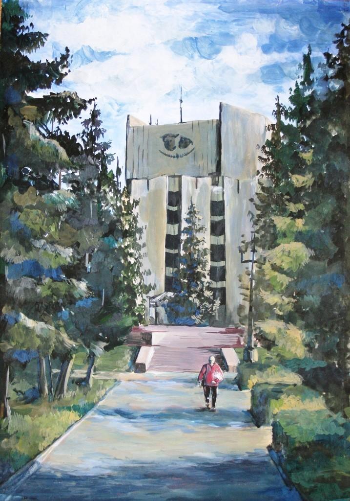 Савенко Анастасия, Челябинск, ДХШИ. После концерта