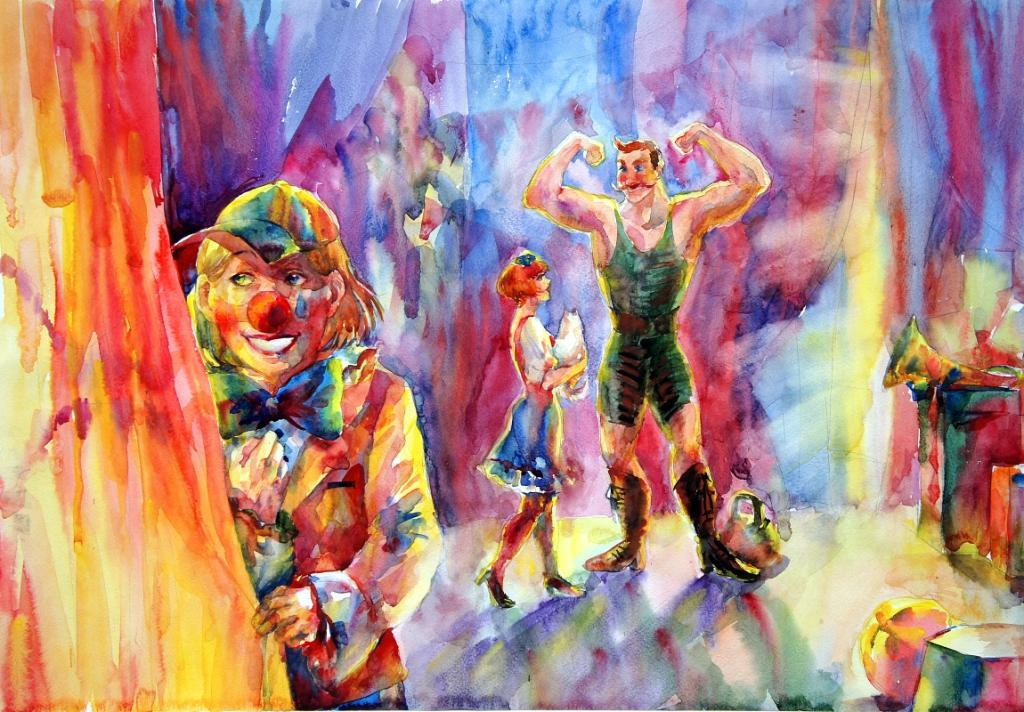 Разина Полина, Челябинская область, г. Миасс, МБУДО ДШИ № 4 МГО. В цирке