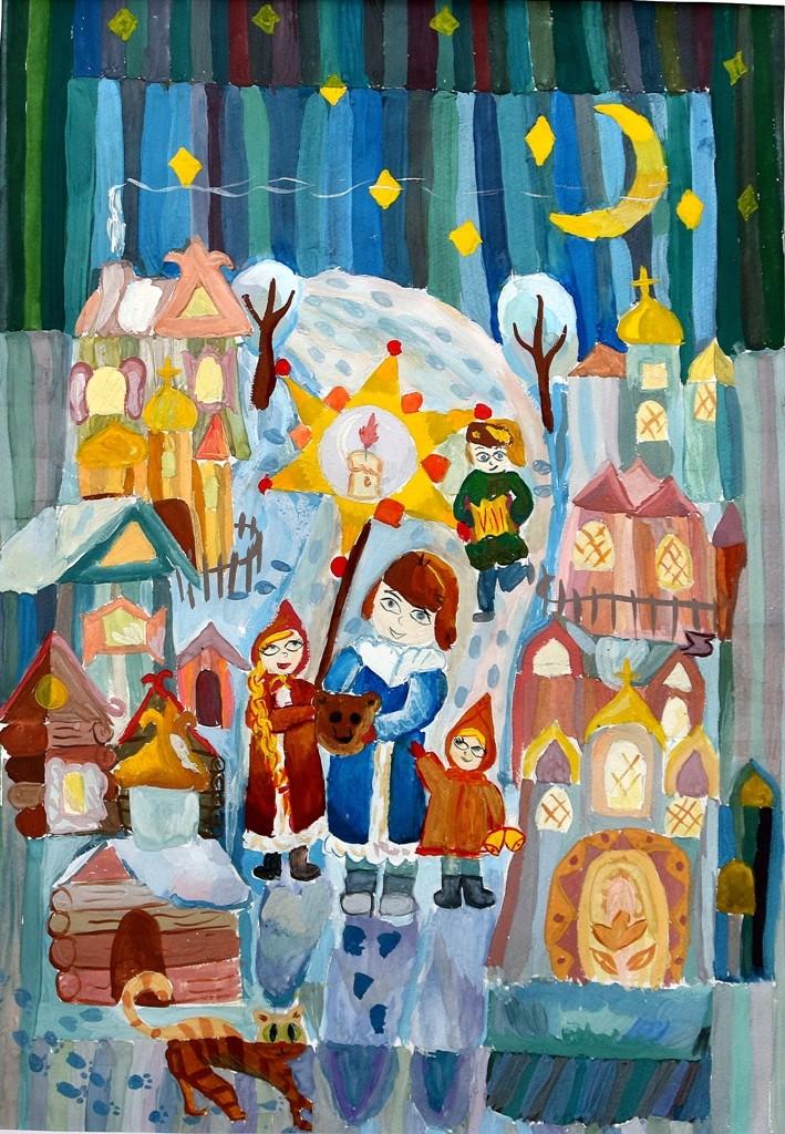 Жерлицина Анна, Лангепас, ДШИ, Рождественские колядки jpg