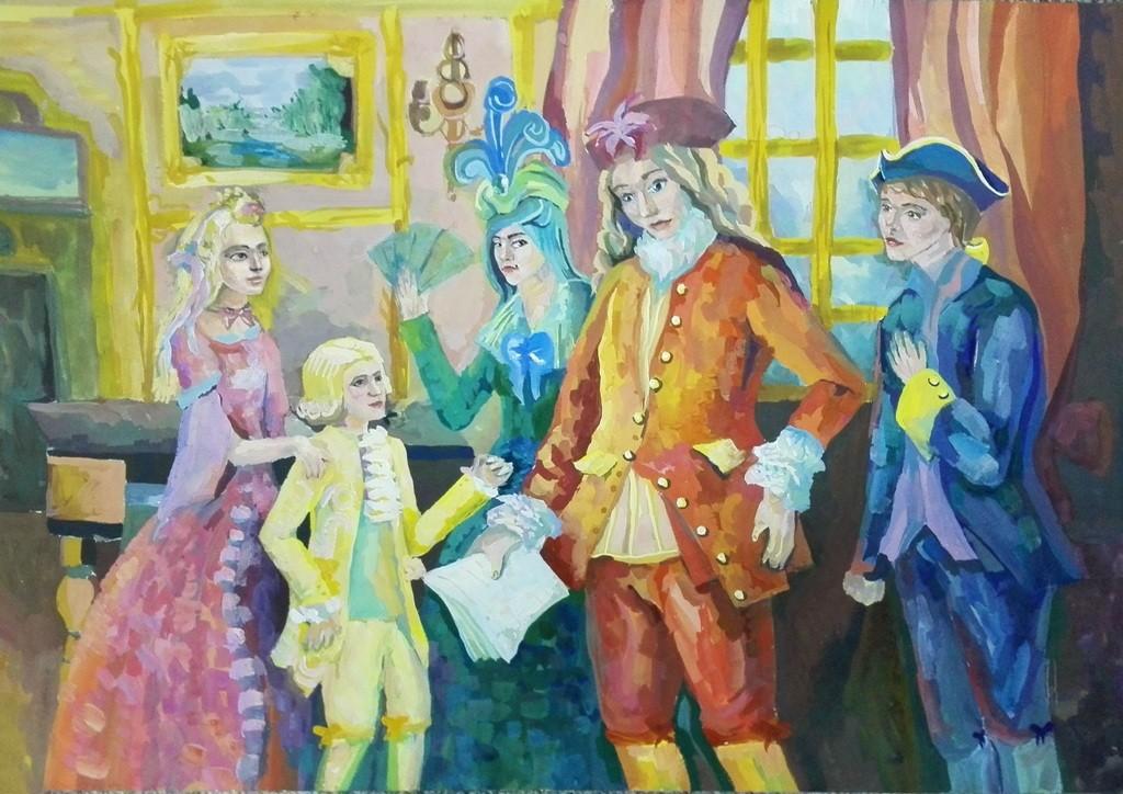 Пенкина Дарья, Ноябрьск, Центр национальных культур, Первая опера