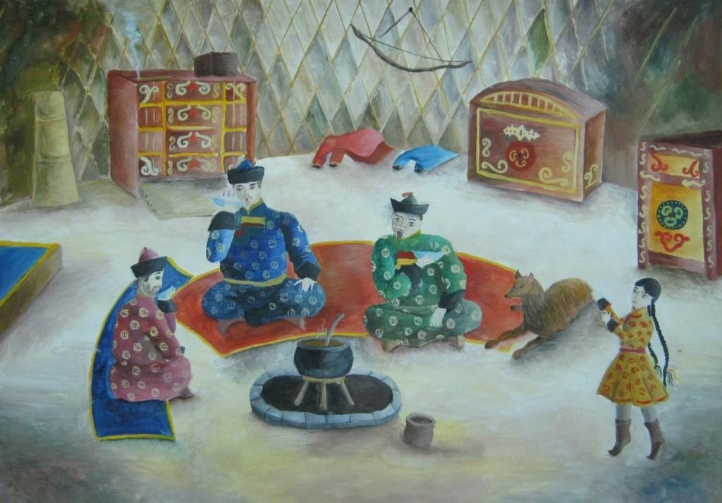 Николаева Анна, Улан-Удэ, ДШИ № 5. Почтение старейшинам