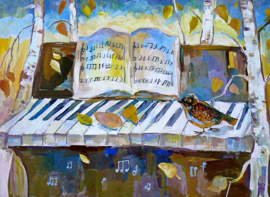 Горбунцова Мария, г. Пенза, ДХШ № 2, П.И. Чайковский. Времена года (ноябрь)