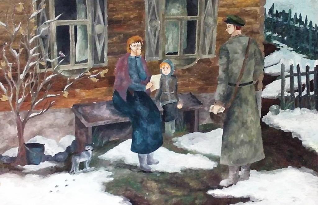 Моргунова Е, Копейск, ДШИ № 2,  Иллюстр.  к произведению А. Лиханова