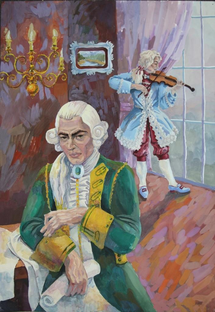 Коваль Дана, Ноябрьск, Центр национальных культур. Моцарт и Сольери