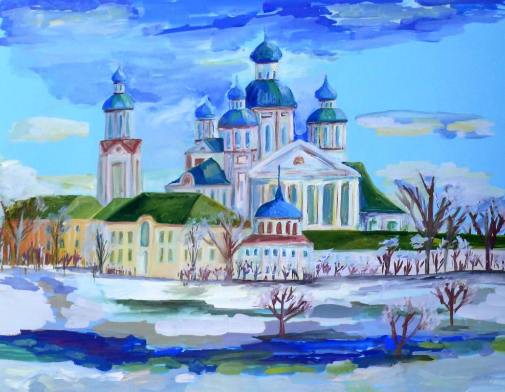 Миронов Георгий, г. Пенза, ДХШ № 2, Наровчат. Троице-Сканов женский  монастырь