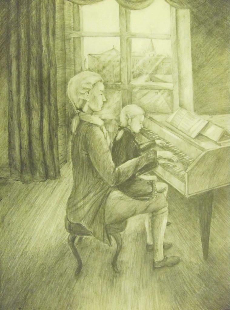 Утина А, Нижний Новгород, ДХШ № 3, Маленький Моцарт музицирует с Бахом,