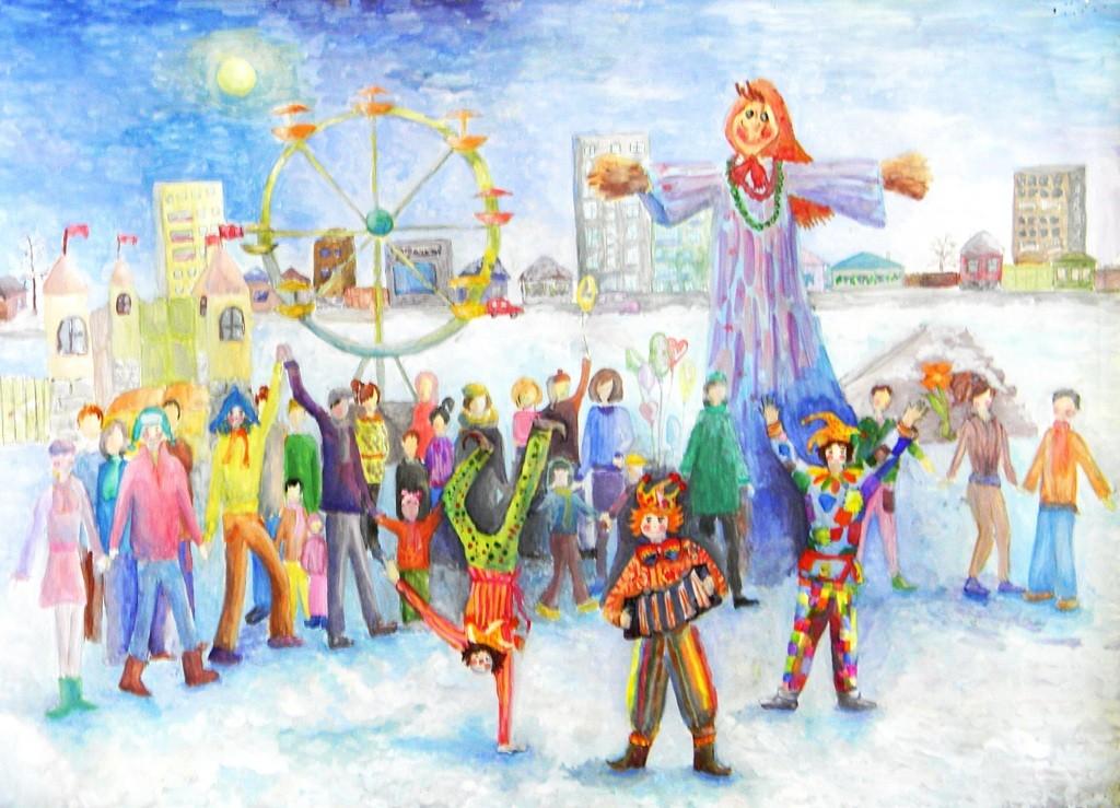 Добровольская Мария,  Троицк,          ДШИ № 1, Проводы зимы