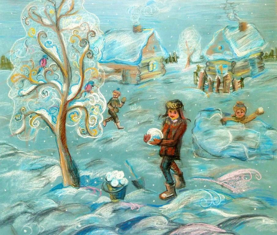 Кулибаба Анастасия, Копейск,  ДШИ №2, Зимние забавы