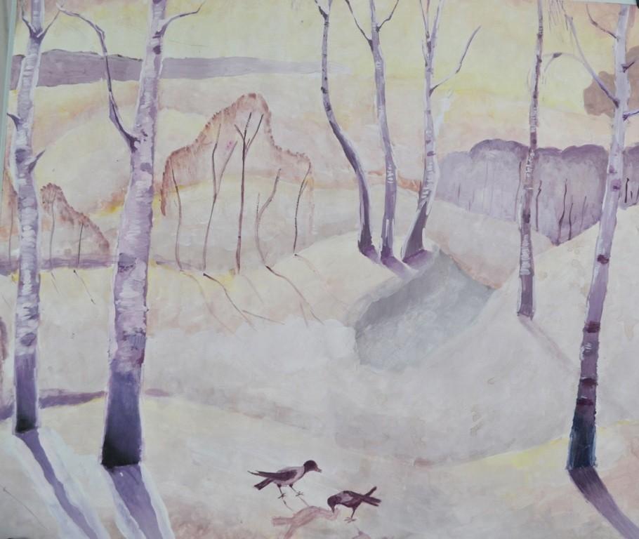 Трофимова Александра, Красногорский, ДШИ № 2. Зимний пейзаж