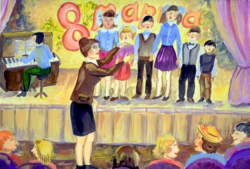 Панченкова Анастасия, Зауральский, ДШИ № 3. Праздничный концерт