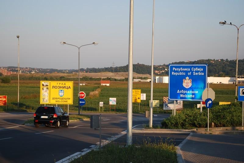 entrée en Serbie, interdiction de photographier le poste-frontière