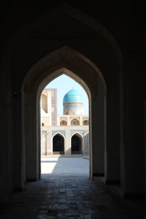 la cour interieur de la mosquee Kalon