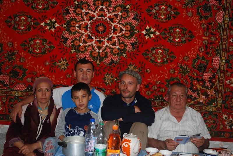 la famille qui m a accueilli a Olot, pere et fils ingenieurs en irrigation...
