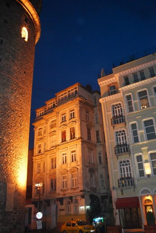 La tour genoise de Galata