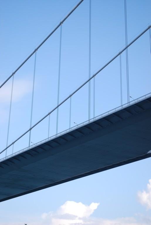 le tablier du pont de Fatıh
