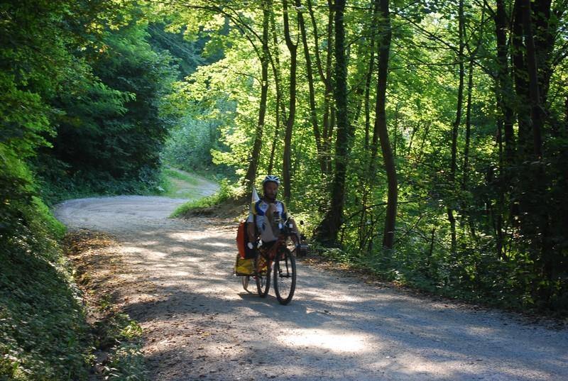 Azub en mountain bike