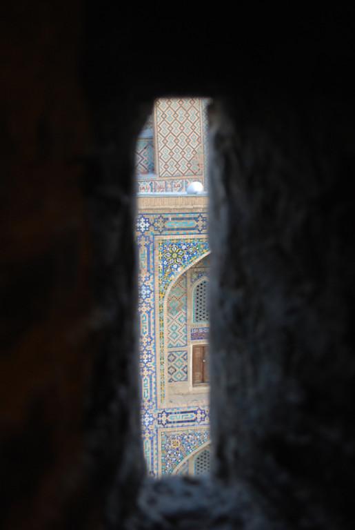 depuis l escalier du minaret