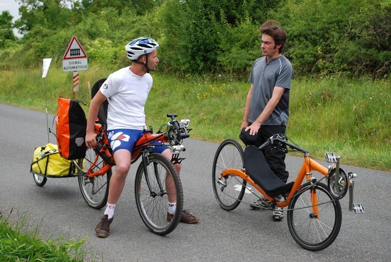 Christophe revendeur de vélos couchés à Guérard en Seine et Marne