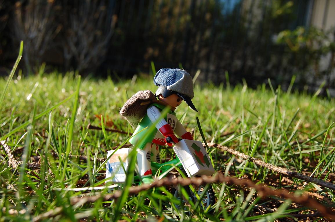 Joe au parc de la Roquette