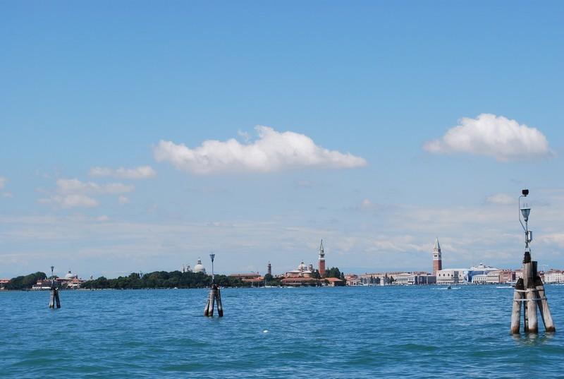 Arrivee a Venise