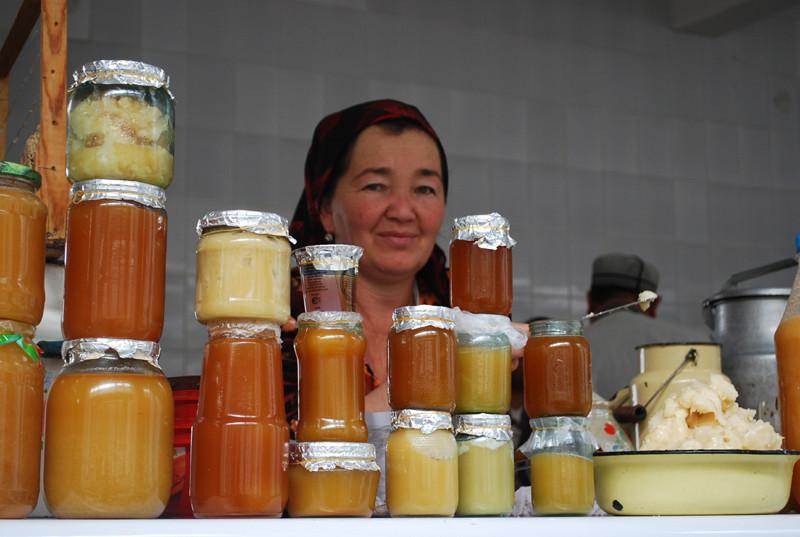 le bazar de Samarkand