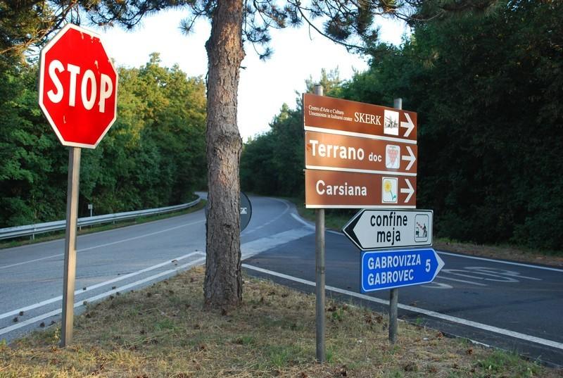 en Italie on bilinguise tranquillement.