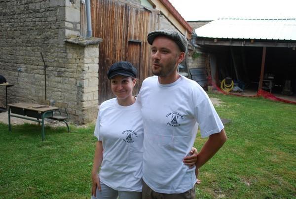 """Nos nouveaux T-shirt """"Cirfontaines en Azois"""""""
