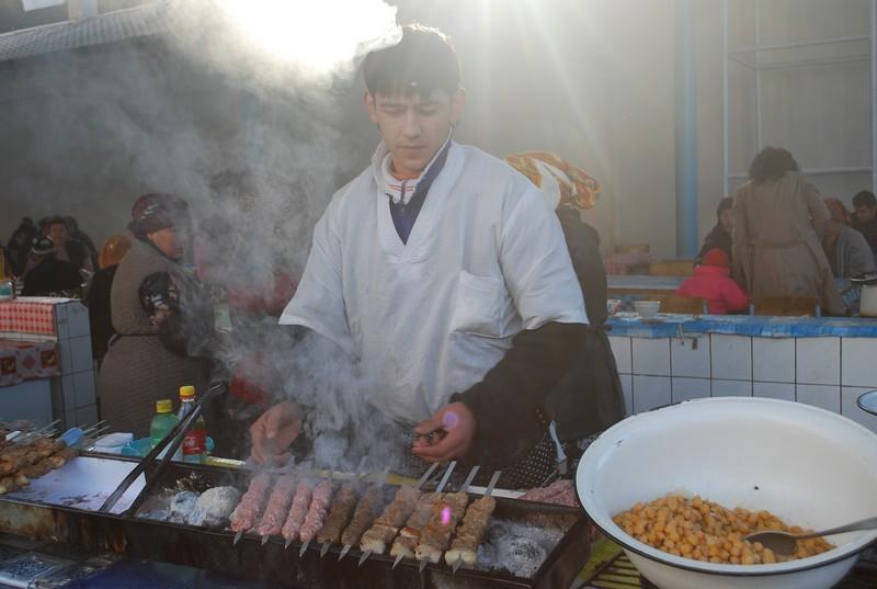 bazar a Tachkent