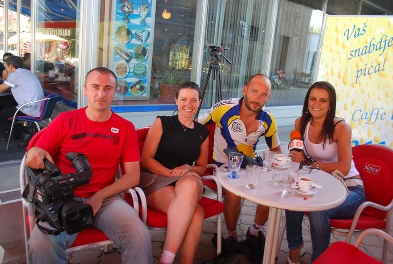 l'équipe de Slobomir RTV, bientôt sur le câble !