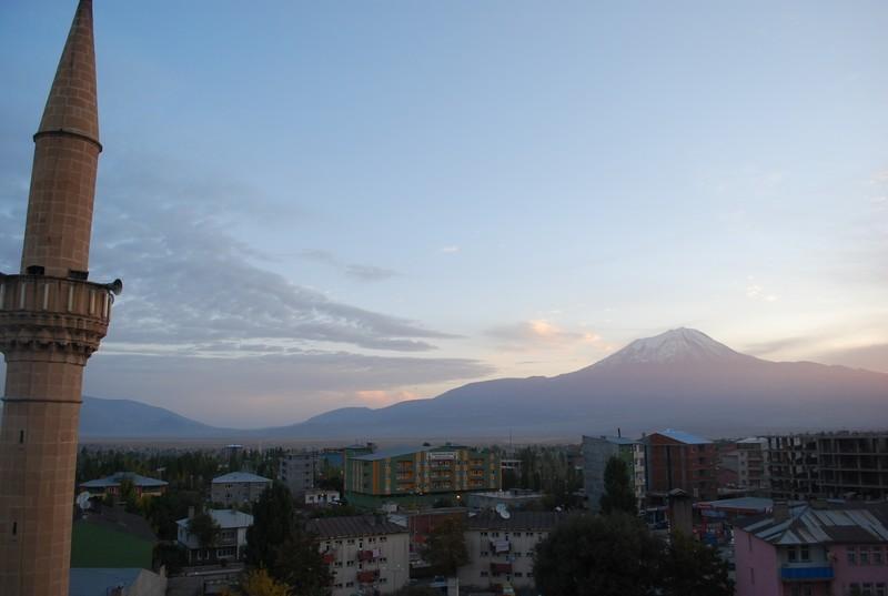 Le Mont Ararat et Doğübeyazit
