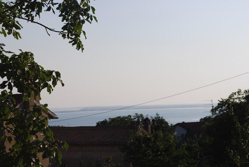 en montant vers la Slovenie, le golfe de Trieste