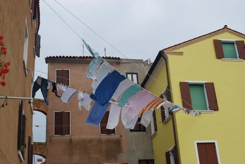 Pellestrina, village de pecheurs, avec meme des vrais pecheurs