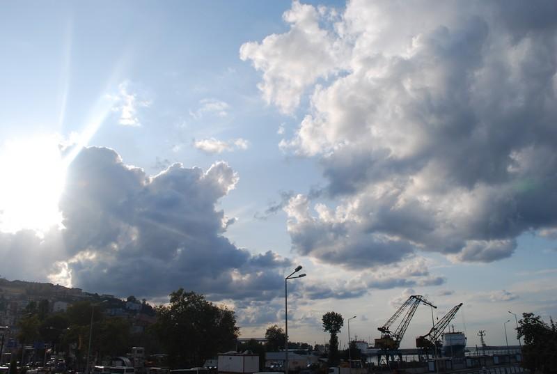 le ciel sur Zonguldak