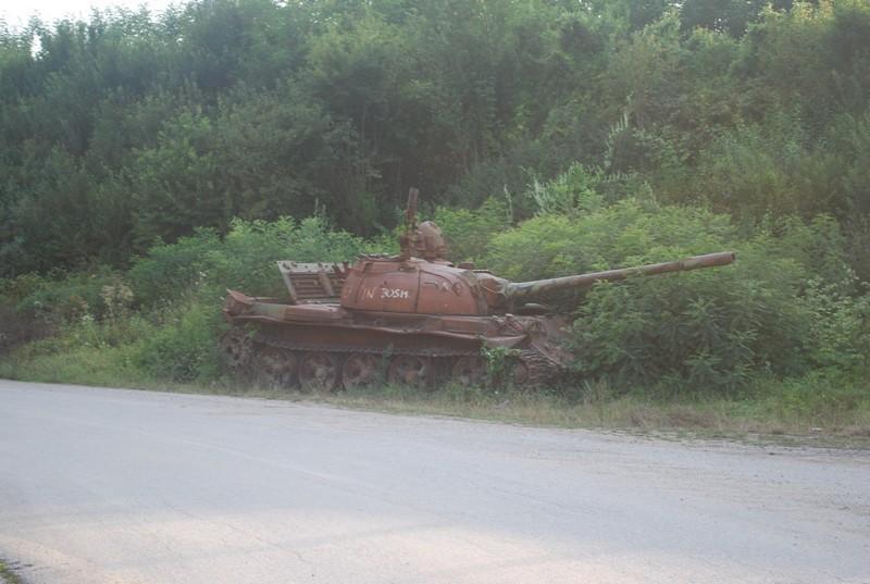 Jesenovac, la Bosnie est de l'autre côté de la rivière