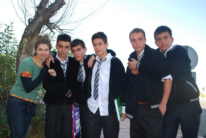 Schoolboys a Erzurum