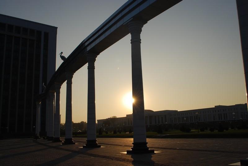 autour du palais presidentiel, Tachkent