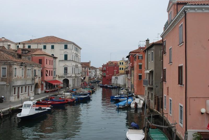 Chioggia, comme Venise, sans Francois Pinaut
