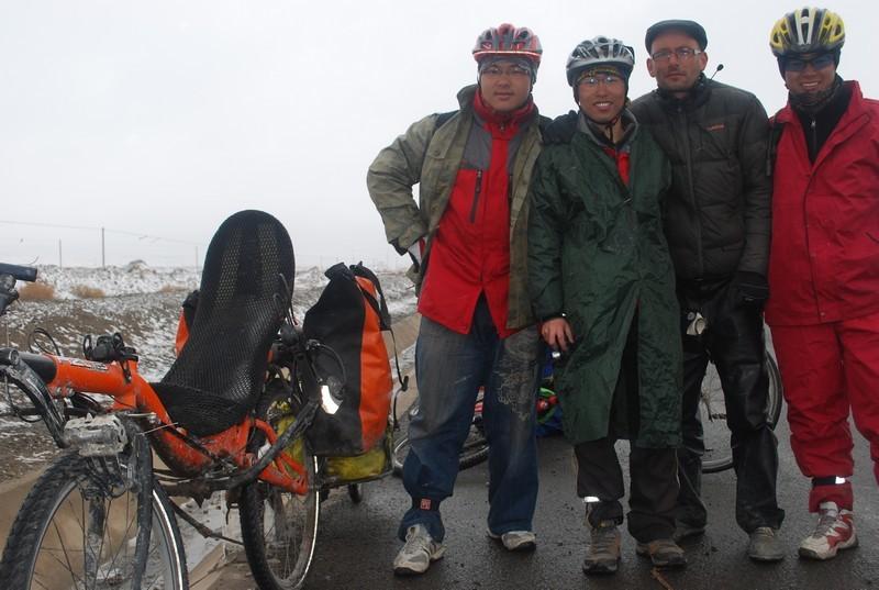 ils sont en route pour le Tibet...