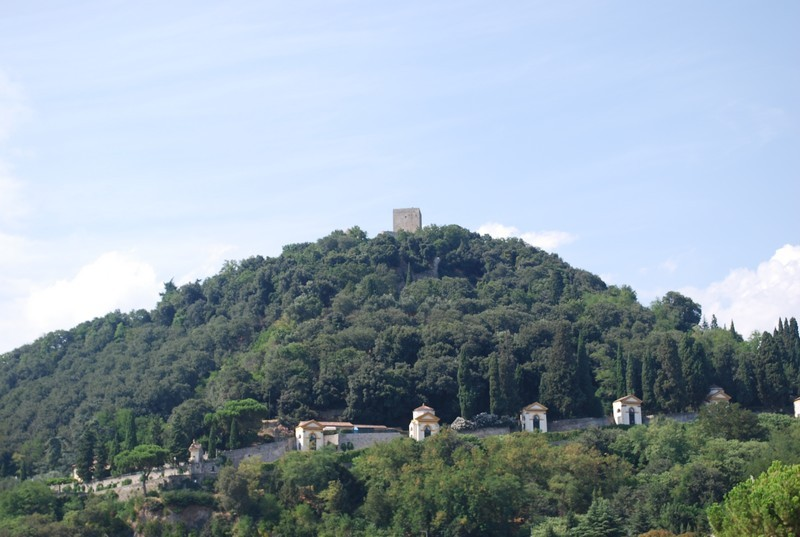 Monselice, les Collines Euganeennes