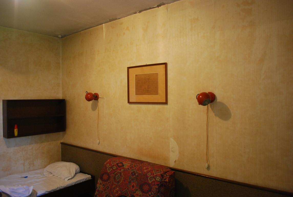 la spendeur déchue d'une vieille du tourisme yougoslave, Hôtel Tamnava, qui fut neuf un jour.