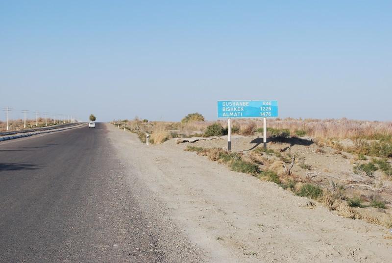 derriere moi le poste-frontiere, Adieu Turkmenistan, pays de l Age d Or !