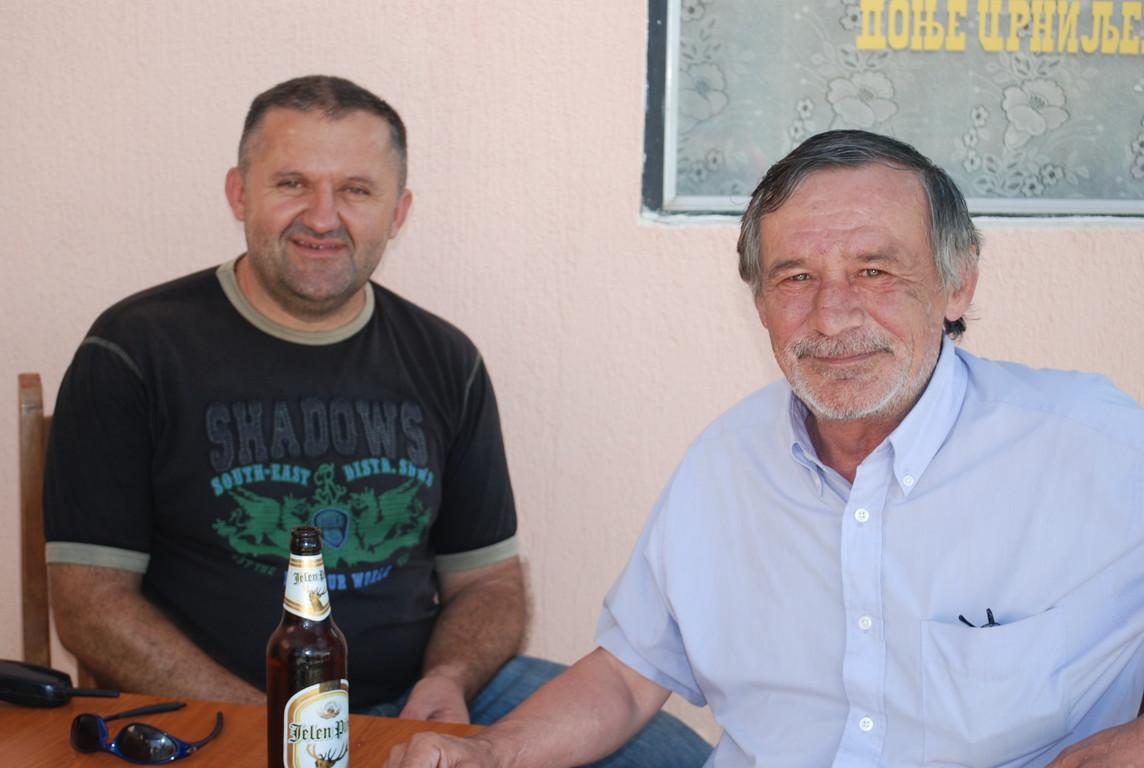 Mile, en France depuis 40 ans, à Koceljevo pour l'été
