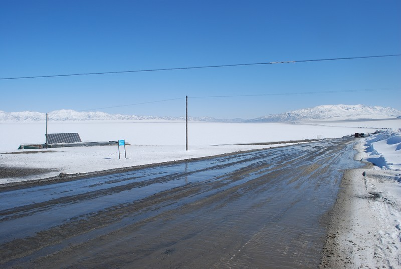 lac gelé, altitude 2020 m