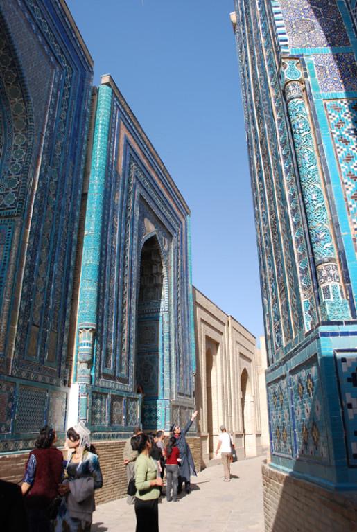sanctuaire de Chah-i-Zinde, Samarcande