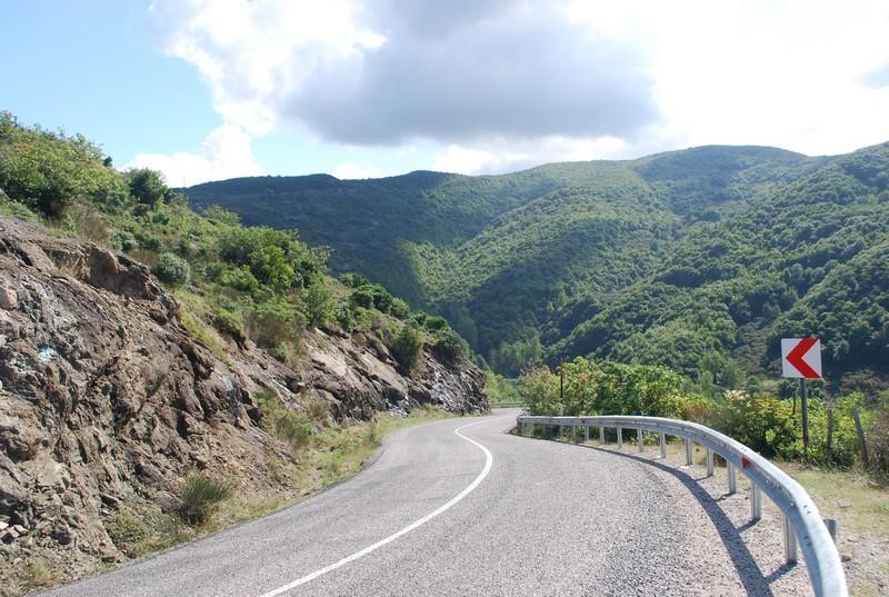 sur la route Çakraz-Cide