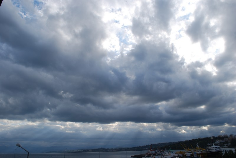 le ciel sur Sinop