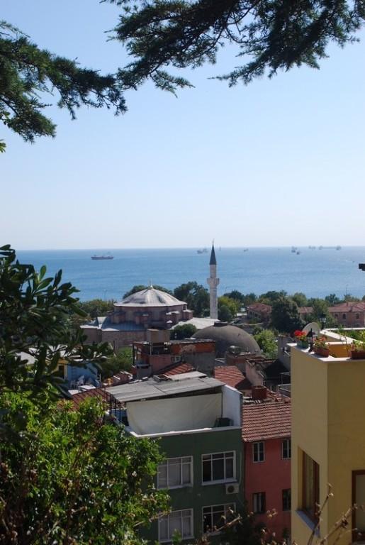 vue sur la Mer de Marmara